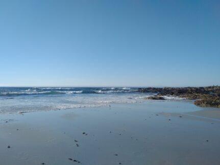 beach at Asilomar