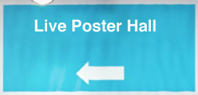 Screen cap of live poster hall button