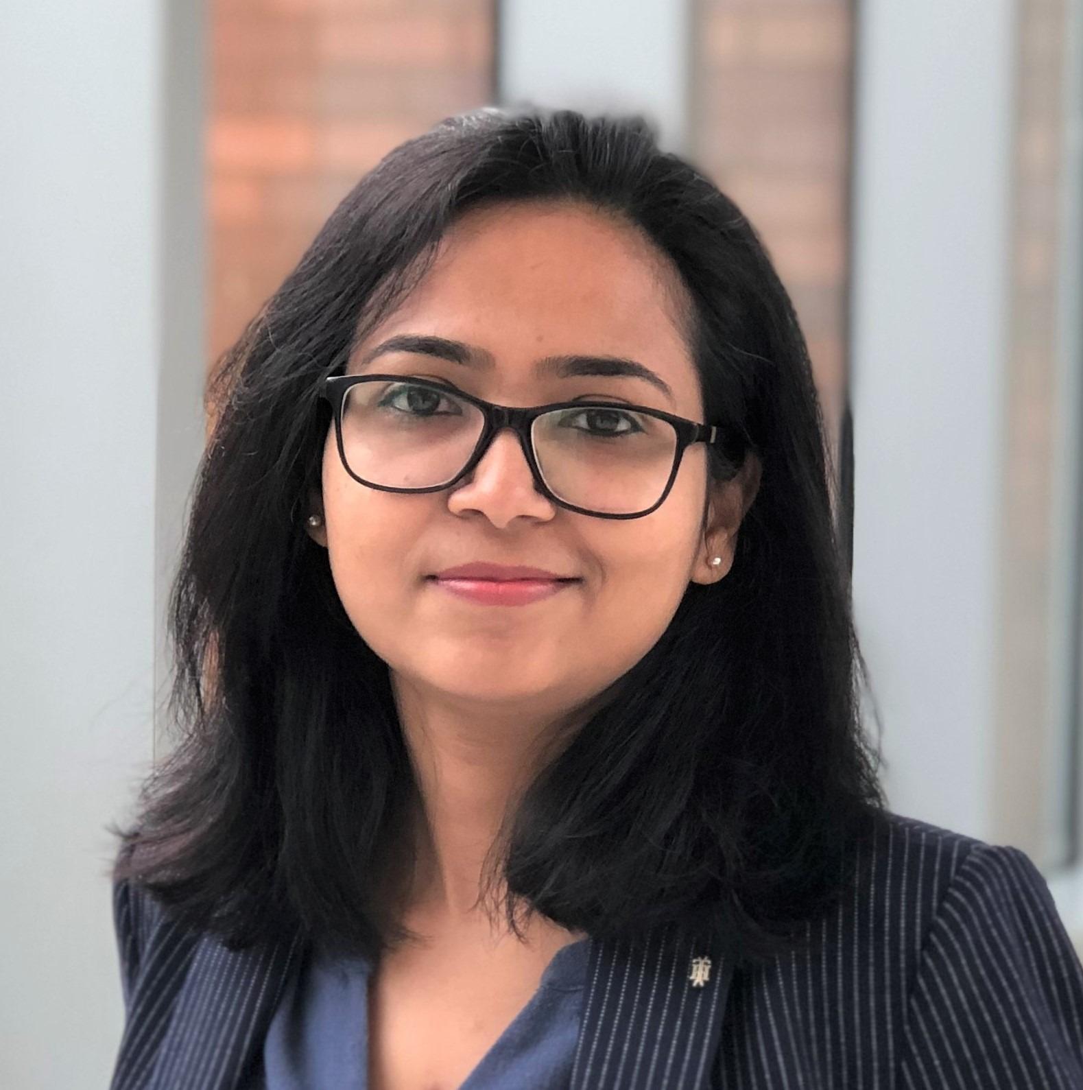 Headshot of Nashrah Ahmad