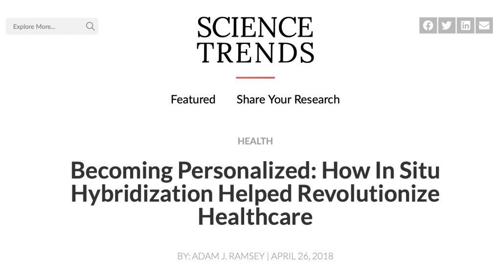 Becoming Personalized: How In Situ Hybridization Helped Revolutionize Healthcare