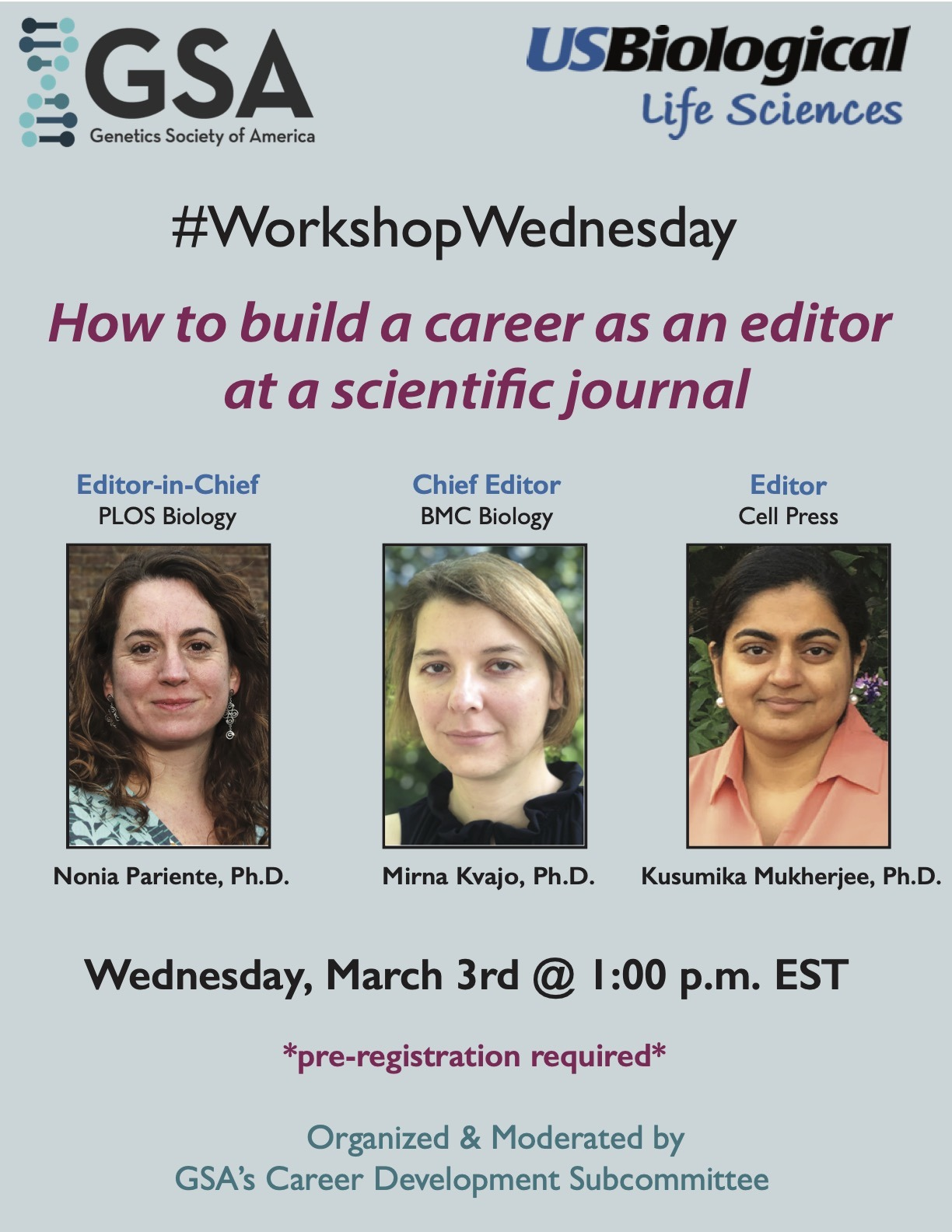 Career Development Workshop, March 3, 2021